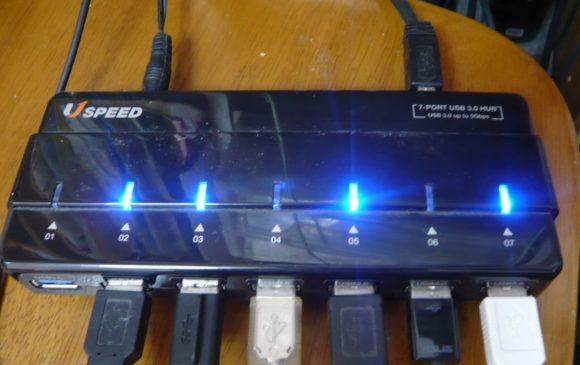 ANKER製USB3.0対応USBハブ