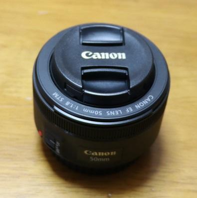 標準レンズ EF 50mm f/1.8 STM本体