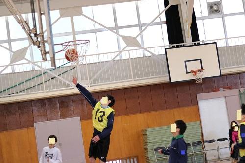 EF50mmF1.8で撮ったバスケの写真
