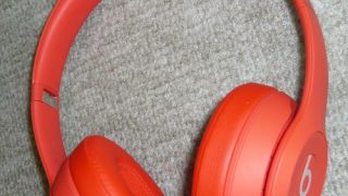 beats solo3 Wireless (products) red ヘッドホン