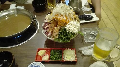 ちゃんこ鍋小結(2〜3人前)