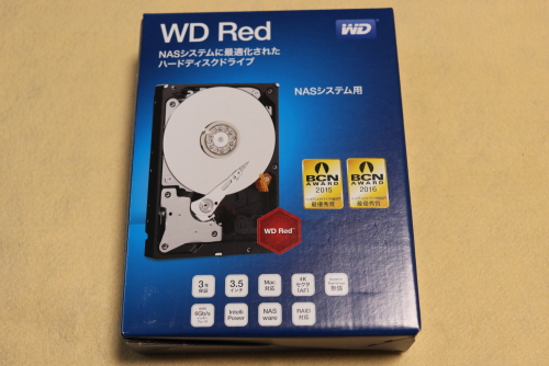 WD REDの箱
