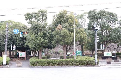 子供自然公園の二俣川側入り口