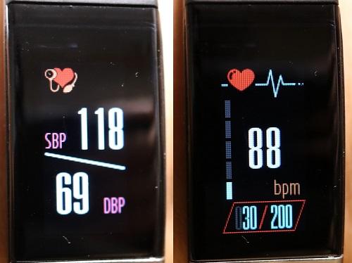 血圧と心拍数