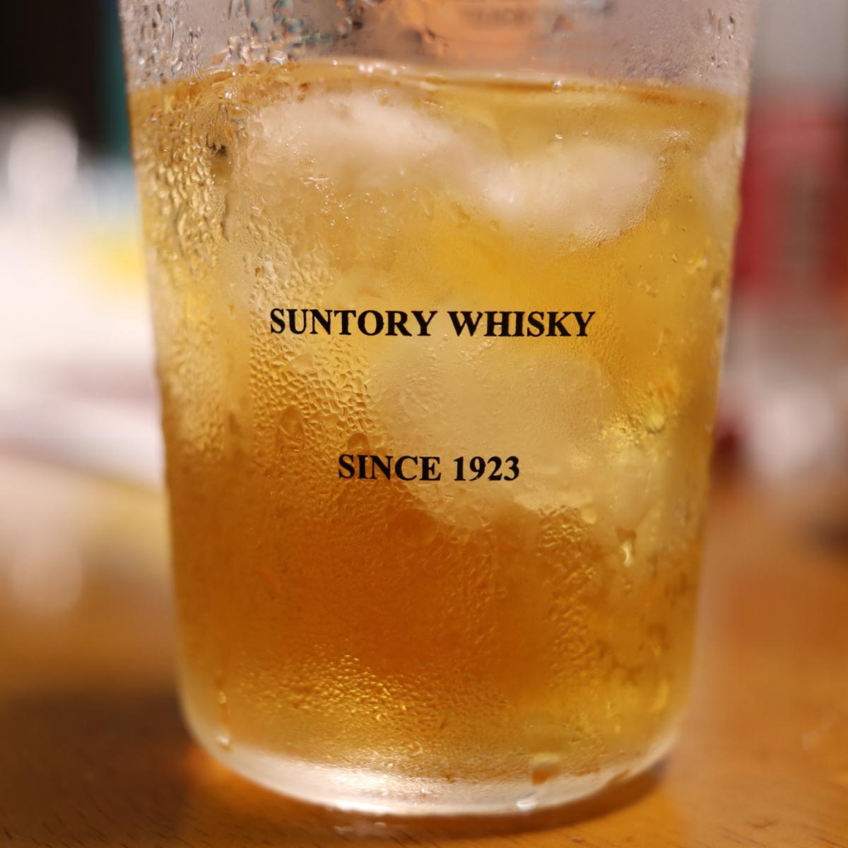 定量ポーラーでウイスキーを注いだ2回目